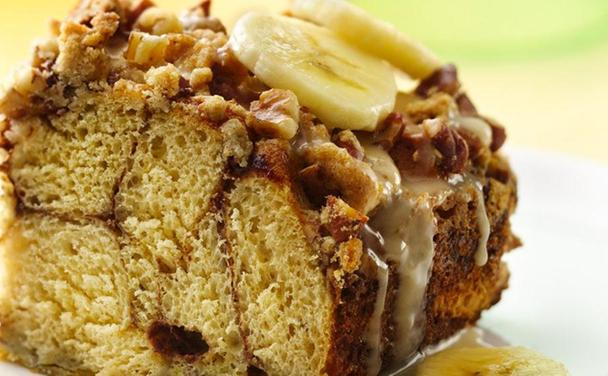 Banana-Walnut Brunch Squares