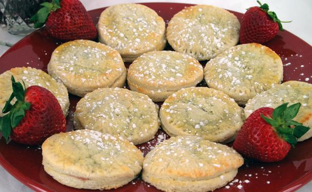 Strawberry Cheese Tarts