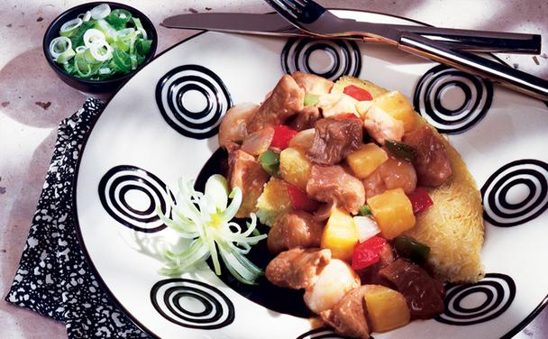 Lychee Sweet and Sour Pork