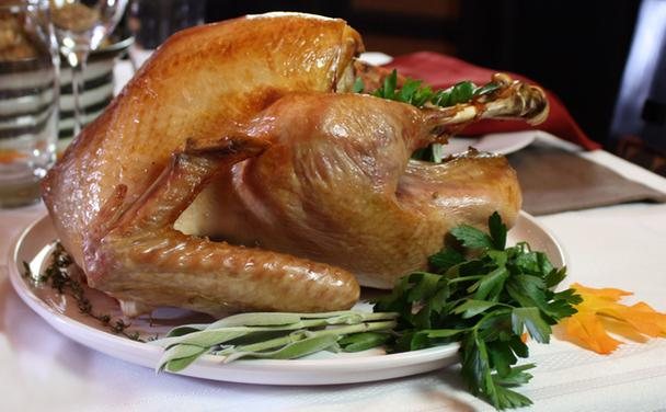 Brined Roasted Turkey