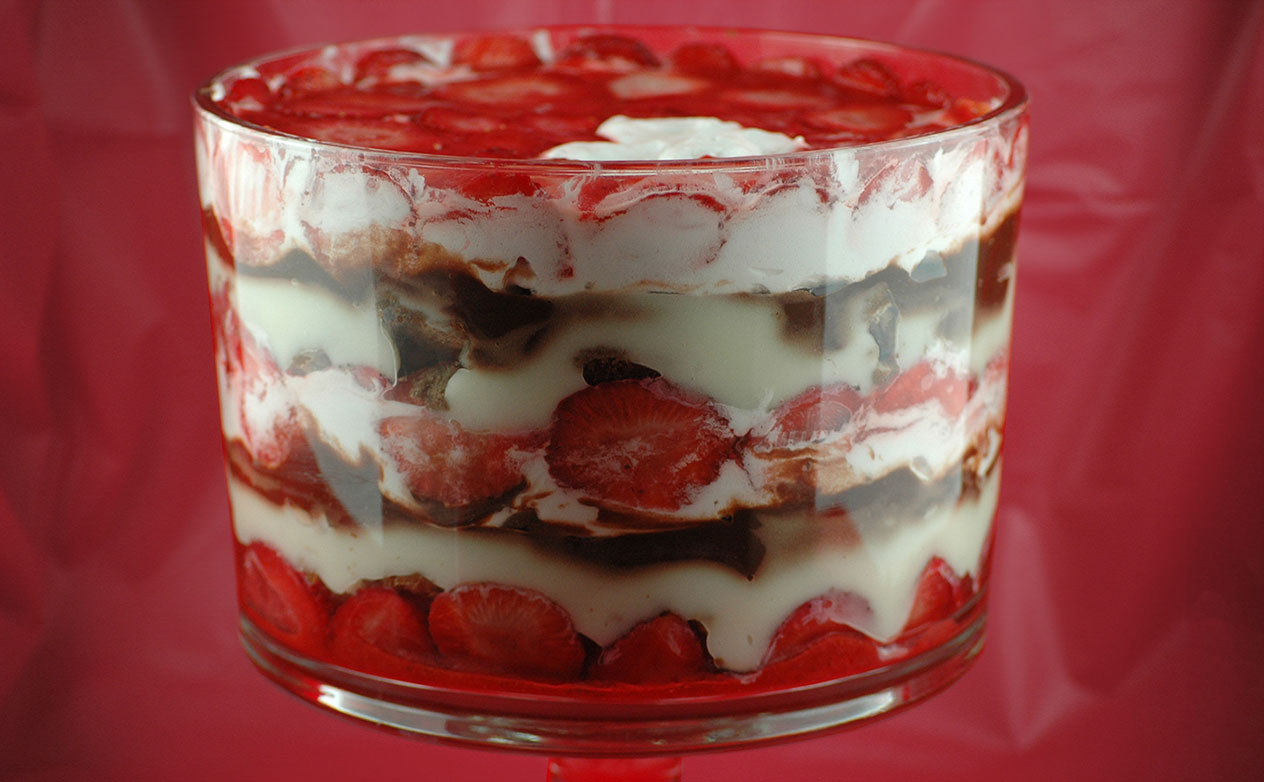 Strawberry Trifle Recipes Angel Food Cake