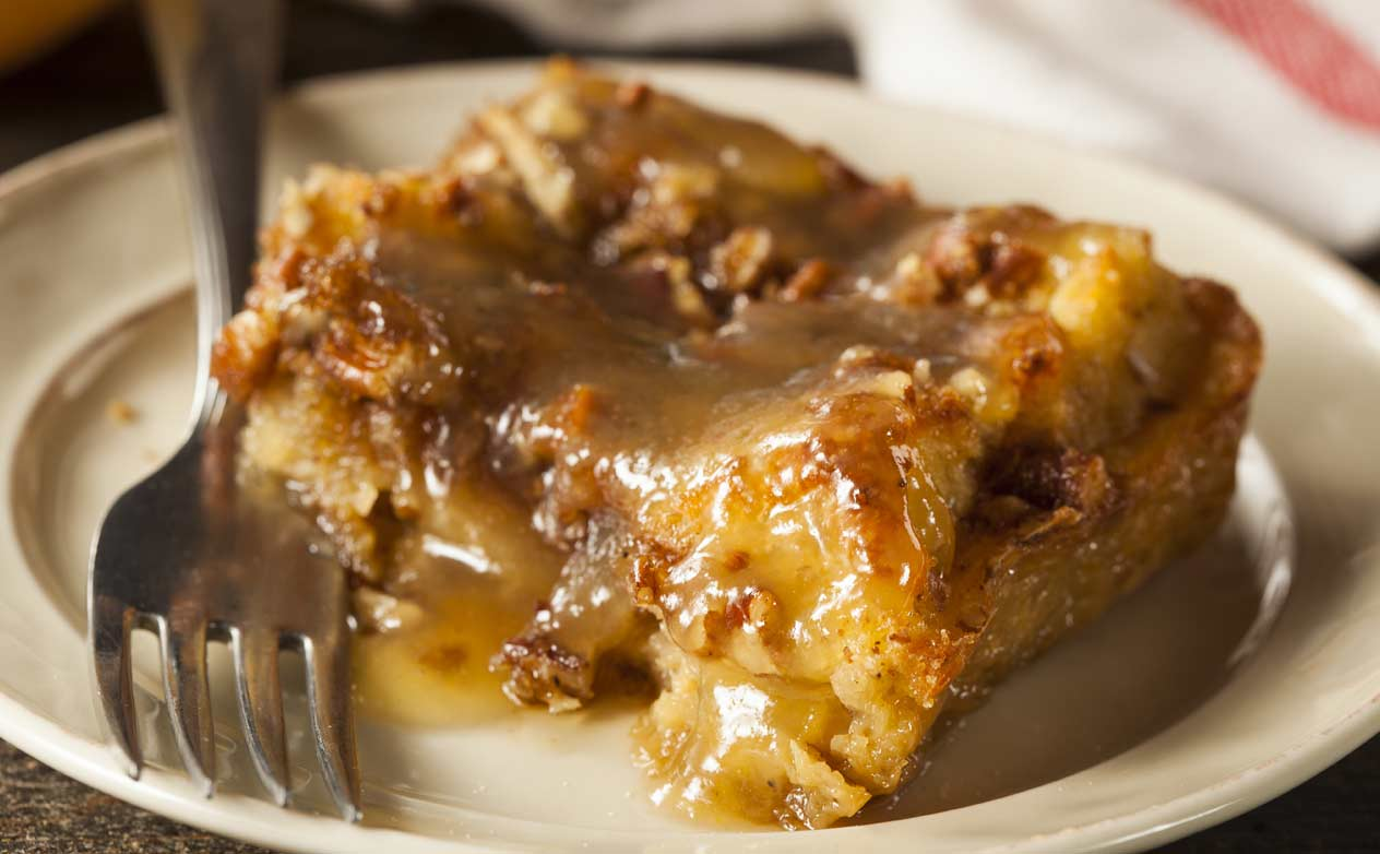 Bread Pudding With Bourbon Sauce Recipe At Geappliances Com