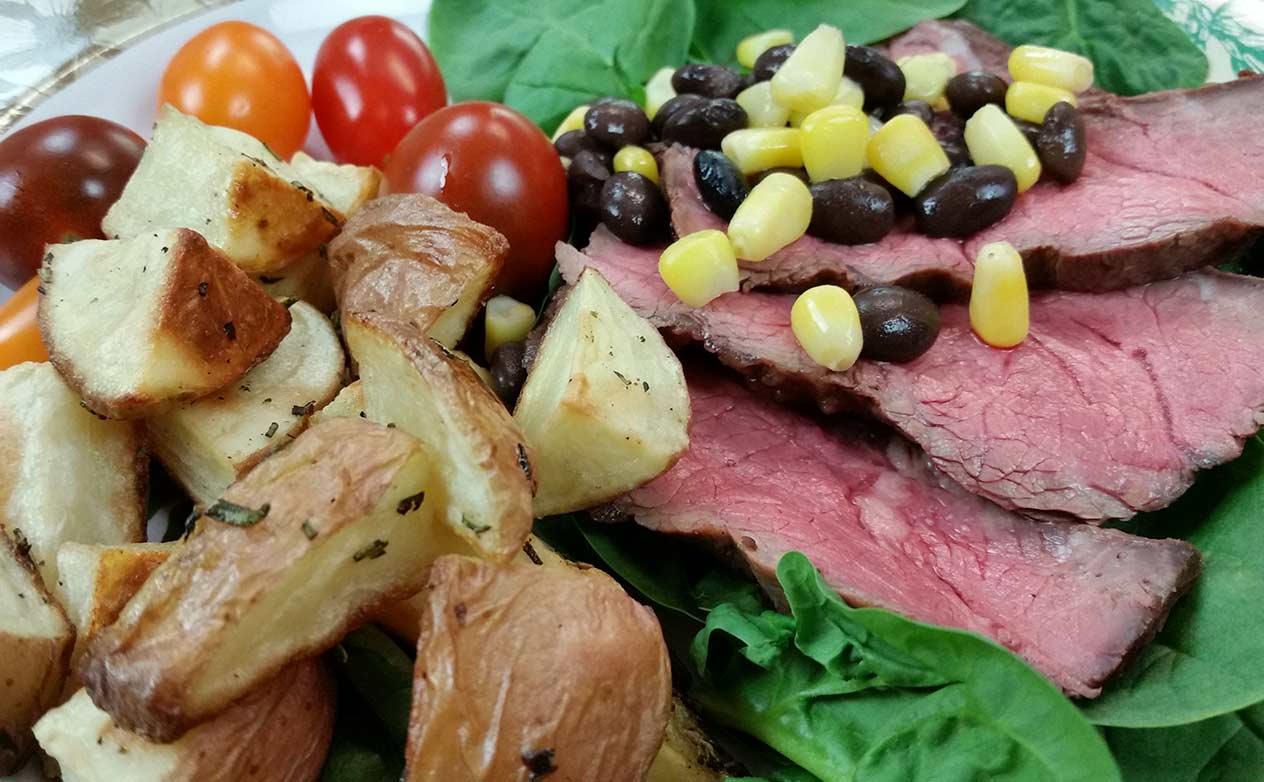 Grilled Marinated Flat Iron Steak Recipe At Geappliances Com