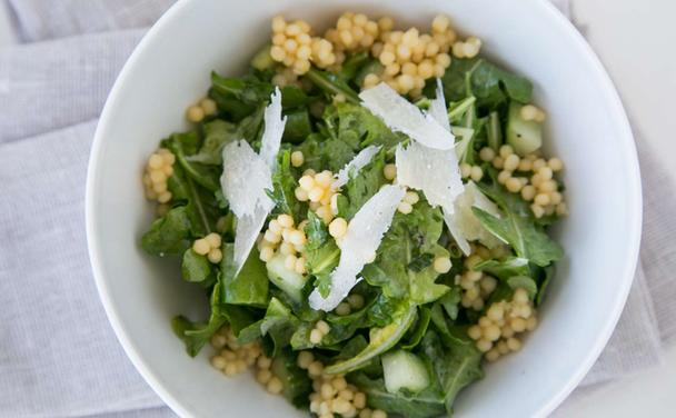 Arugula & Sugar Snap Salad