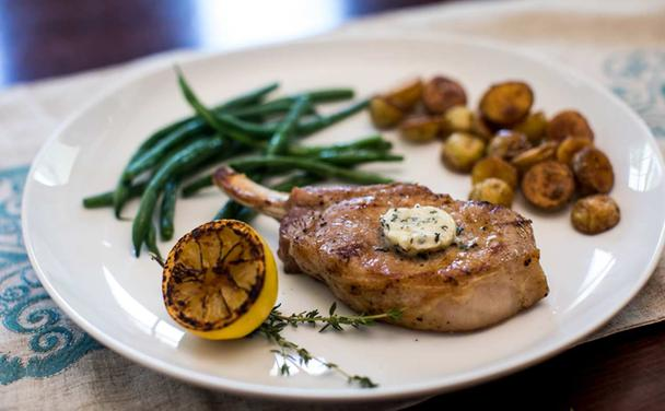 Grilled Pork Chops without the Grill